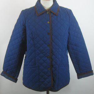 Joan Rivers Quilted Barn Jacket S NEW